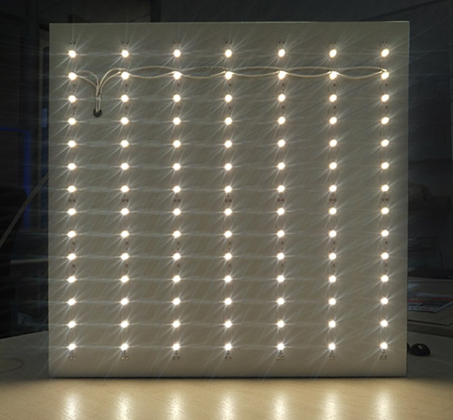 LED backlit array